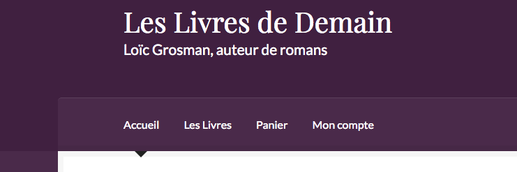 Site Les Livres de Demain